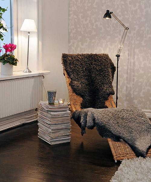Уютные места для чтения - небольшая подборка