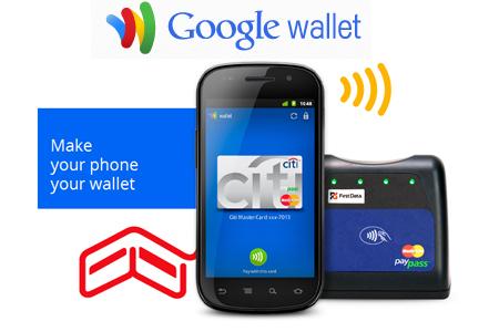 Пластиковая карта в Google Wallet