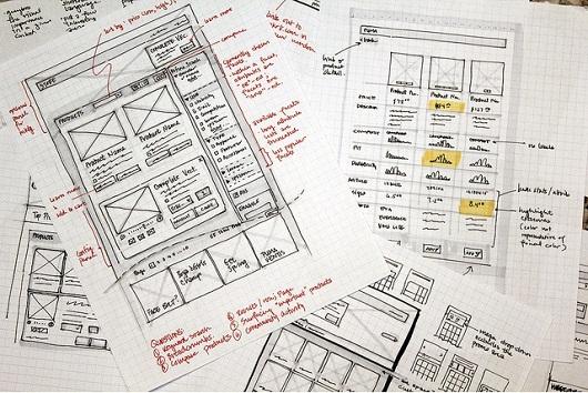 прототип сайта фото