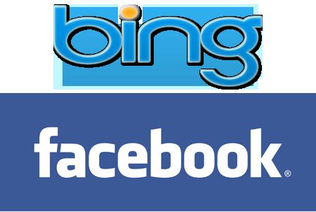Bing продолжает интеграцию с Facebook