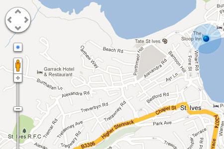 Google Maps - реклама на поисковой странице
