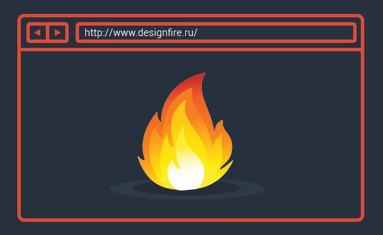 flat design blog (плоский дизайн блог)