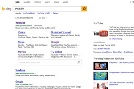Эксперименты Google и Bing с англоязычной выдачей